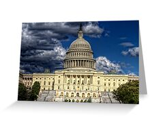 capital contrasts  Greeting Card