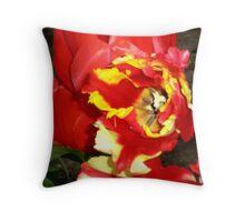 Fantasy Tulip Throw Pillow