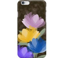 Evening blooms iPhone Case/Skin