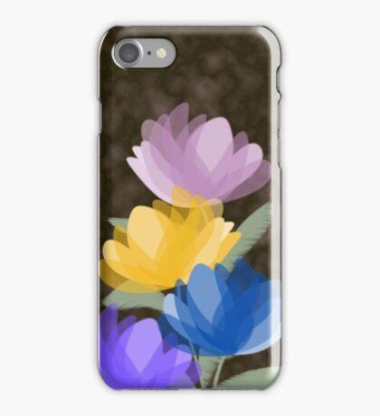 Evening blooms iPhone Case/Skin