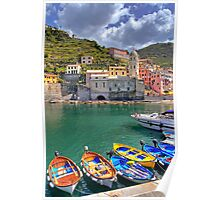 Vernazza - Five Lands - Marina Poster