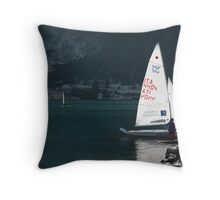 Lago di Garda Throw Pillow