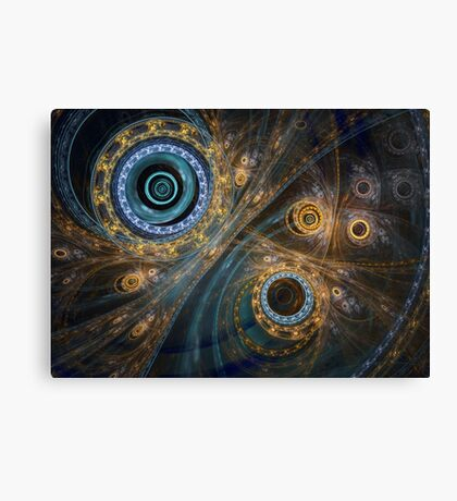 Inner complex Canvas Print