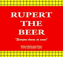 Rupert the Beer by kerchow