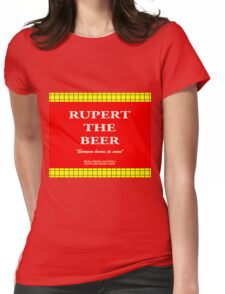 Rupert the Beer Womens Fitted T-Shirt