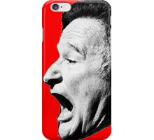 Robin Williams funny scream iPhone Case/Skin