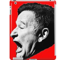 Robin Williams funny scream iPad Case/Skin
