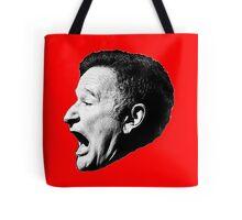 Robin Williams funny scream Tote Bag