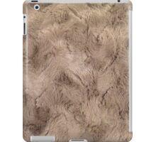 Brown fur wrap iPad Case/Skin