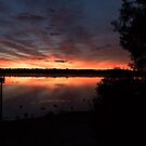 Lake Sunrise by GerryMac