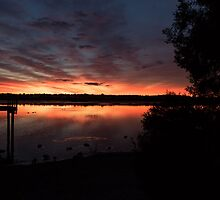 Lake Sunrise by GerryMac