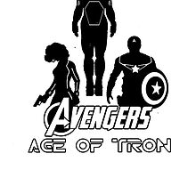 avengers: age of tron. by jammywho21