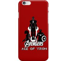 avengers: age of tron. iPhone Case/Skin