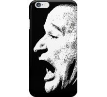 Robin Williams funny scream (BLACK T-SHIRT) iPhone Case/Skin