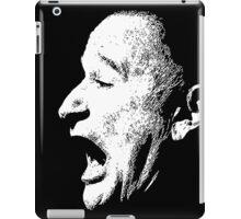 Robin Williams funny scream (BLACK T-SHIRT) iPad Case/Skin