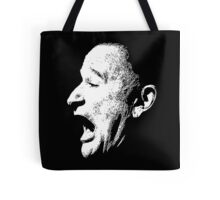 Robin Williams funny scream (BLACK T-SHIRT) Tote Bag