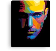 Ben Affleck batman portrait Canvas Print