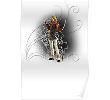 Final Fantasy Type-0 - Trey Poster