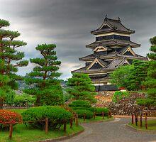 Matsumoto castle, Japan by Yevgen Pogoryelov