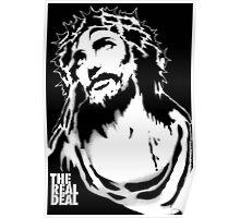 Jesus Stencil Poster