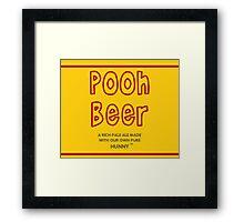 Pooh Beer Framed Print