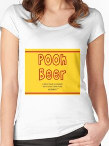 Pooh Beer Women's Fitted Scoop T-Shirt