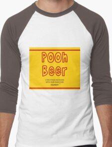 Pooh Beer Men's Baseball ¾ T-Shirt