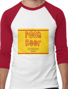 Pooh Beer Men's Baseball ¾ T-Shirt