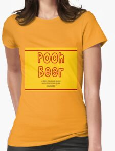 Pooh Beer Womens Fitted T-Shirt