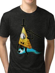Bill Cipher Tri-blend T-Shirt