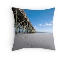 Pigeon Toed Throw Pillow
