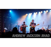 Andrew Jackson Jihad- Live in Brooklyn Photographic Print
