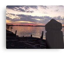 Great Lakes Sunset Metal Print