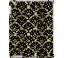 Golden Art Deco iPad Case/Skin