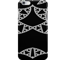 Purity - elegance in black and white iPhone Case/Skin