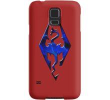 Blue Skyrim Logo Samsung Galaxy Case/Skin