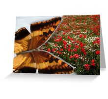 Zip into Spring! Greeting Card