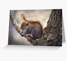 """""""Little Red Haired Girl"""" Greeting Card"""