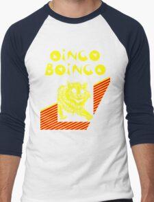 Oingo Boingo cat Men's Baseball ¾ T-Shirt