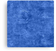 Ultramarine Oil Painting Color Accent Canvas Print