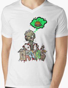 Brain Food Mens V-Neck T-Shirt