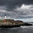 Nubble Light House by dbschanck
