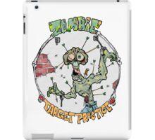 Zombie Target Practice iPad Case/Skin