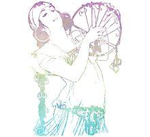 Alphonse Mucha Goddess Art Photographic Print