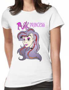 Punk Princess Womens Fitted T-Shirt