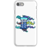 Tardis sounds off iPhone Case/Skin