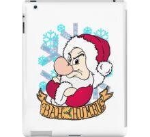 Grumpy Bah Humbug iPad Case/Skin