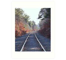 Rail Road Art Print