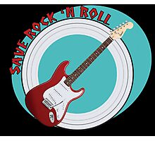 Save Rock 'n Roll Photographic Print