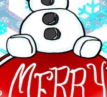 Merry Olaf Christmas Sticker
